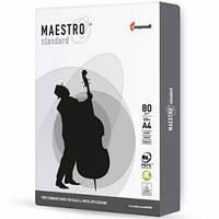 Бумага А4, Maestro Standard, 80 г/м², 500 листов, класс С+, белизна CIE 149±3