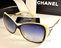 Женские солнцезащитные очки Chanel Бабочка стильный дизайн Шанель  качественная реплика 3f369b4a9321e