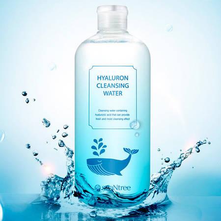 SeaNtree Очищающая вода для снятия макияжа с гиалуроновой кислотой Hyaluron Cleansing Water 500 ml