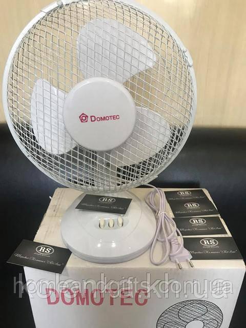 Настольный вентилятор Domotec DM-09