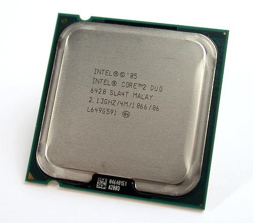 Процессор(775) Intel Core 2 E6420 4 МБ кэш-памяти, тактовая частота 2,13 ГГц, частота системной шины 1066 МГц