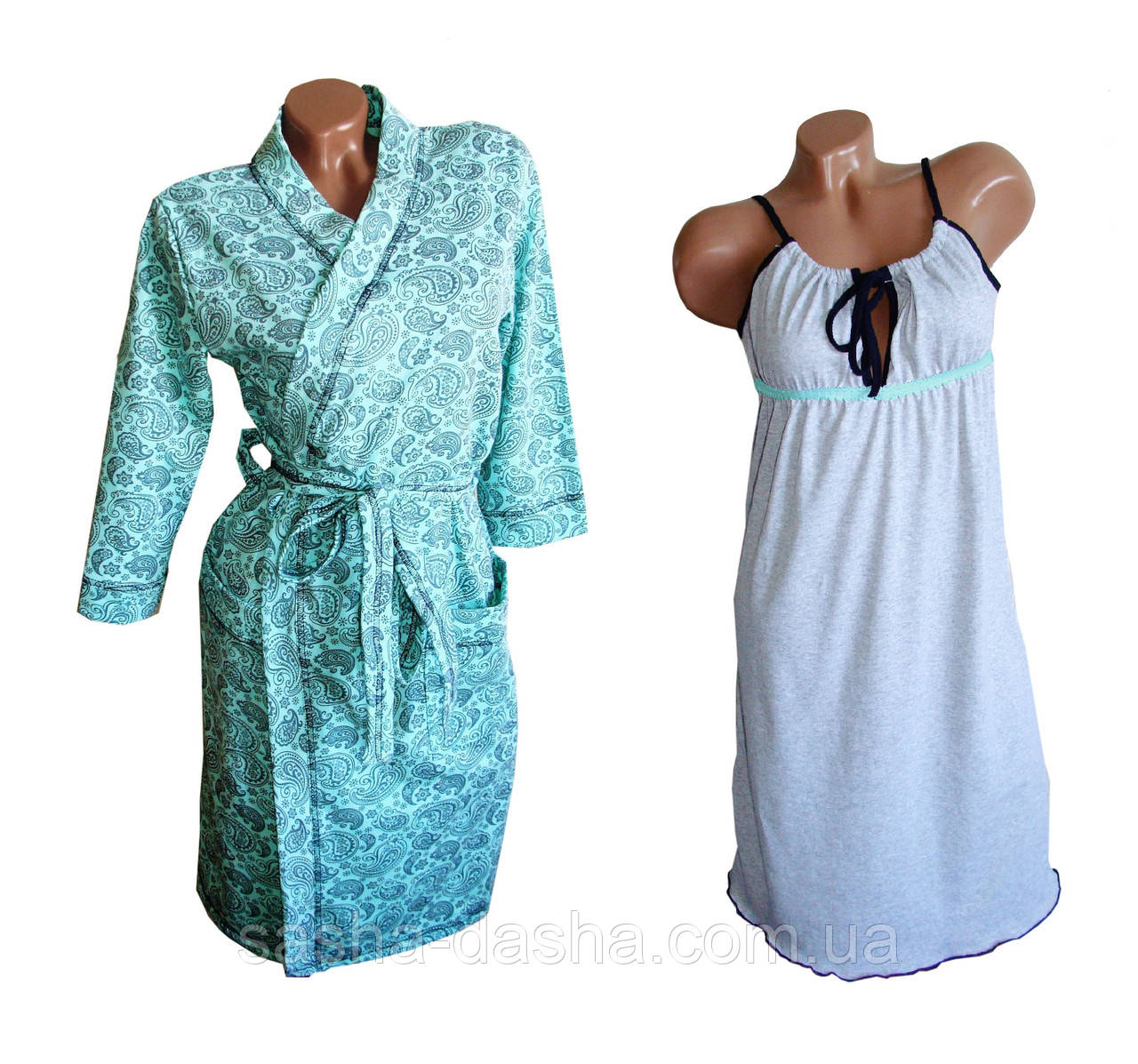 Комплект для кормящих мам, халат и ночная сорочка.   продажа, цена в ... 046e0eca653