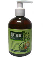 Натуральное Дегтярное жидкое мыло-натуральный препарат от себореи,псориаза 275 мл,Флора-Фарм