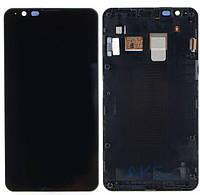 Дисплей (экран) для телефона Sony Xperia E4 E2104, E2105, E2115, E2124 + Touchscreen with frame Original Black
