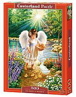 Пазлы Castorland 500 Тепло Ангела, В-52844