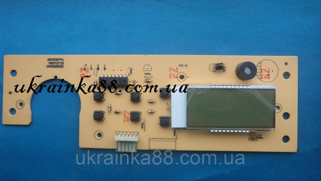 Плата  интерфейса, индикации, дисплея SOLLY STANDART Н(4WK3500002)