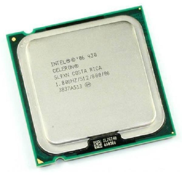 Процессор(775) Intel Celeron 430 тактовая частота 1,80 ГГц, 512 КБ кэш-памяти, частота системной шины 800 МГц