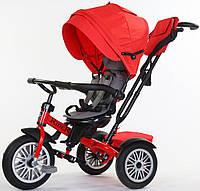 Велосипед детский трехколесный SpeedRider с надувными колесами, красный