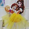 Топпер Принцесса с собачкой в жёлтом