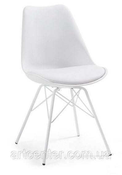 Стілець офісний, стілець для дому, стілець для відвідувачів, стілець обідній (Тау білий)