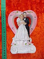 Свадебная статуетка на торт 20 см (2)