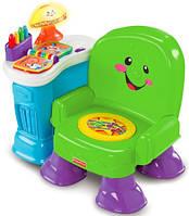 Музыкальный интерактивный стульчик Смейся и учись Fisher price, фото 1