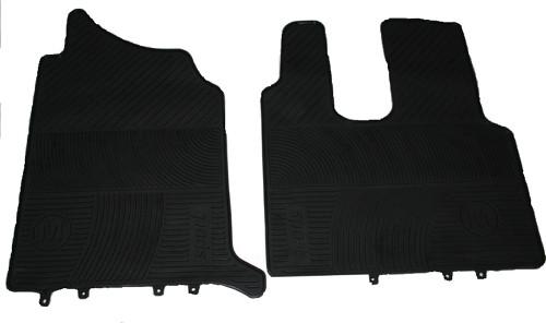 Килимки в салон Mercedes-Benz Actros 2 чорні для вантажівок.(6823)