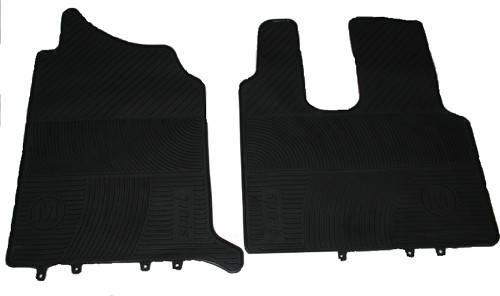 Килимки в салон Mercedes-Benz Actros 2 чорні для вантажівок.(6823), фото 2