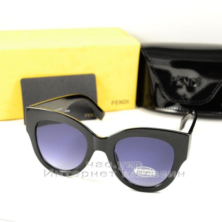 Солнцезащитные очки Fendi Facets трендовая модель сезона Фенди качественная реплика