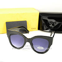 Солнцезащитные очки Fendi Facets трендовая модель сезона Фенди качественная реплика, фото 1