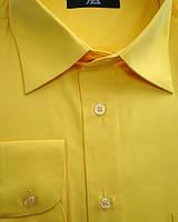 Мужская рубашка желтого цвета