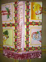 Скатерть для стола, новогодняя 110х140см