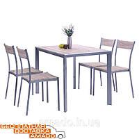 Комплект Тимьян стол + 4 стула (YS2506M + YS2501M)