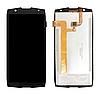 Оригинальный дисплей (модуль) + тачскрин (сенсор) для Oukitel WP5000 (черный цвет)