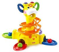 """Игровая стойка """"Веселый жираф"""" от  Fisher-Price, фото 1"""