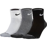 Tеннисные носки Nike Dry Lightweight Quarter (3 пары) SX6941-900 9d4b4b8fabf76