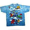 Футболка Liquid Blue Parachuting Bears Tie-Dye