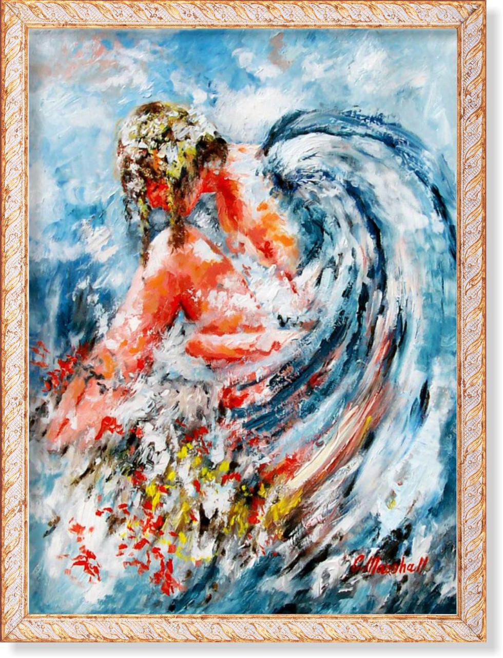 Репродукция картины современных мировых художников «Ангел» 55 х 75 см