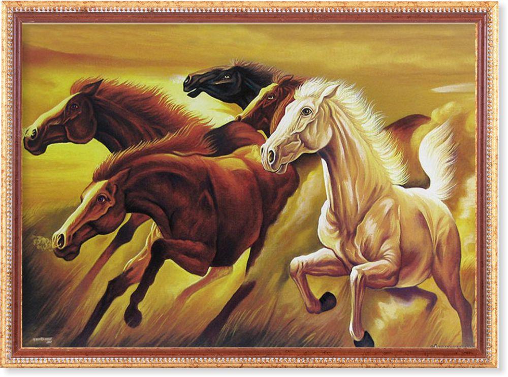 Репродукція картини сучасної «За вітром» 55 х 75 см
