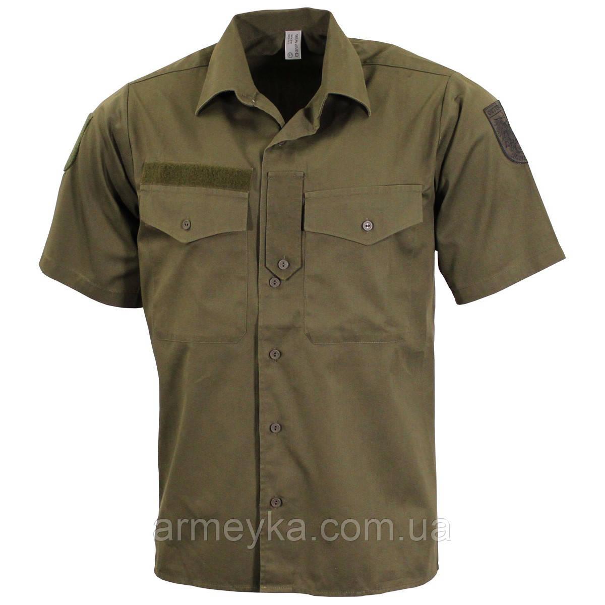 23fd9aa9b724d Полевая рубашка (сорочка), короткий рукав. ВС Австрии, оригинал ...