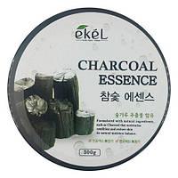 Увлажняющий гель для лица и тела с угольным экстрактом Ekel Charcoal Soothing Gel