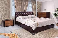 Кровать Ассоль с подъёмным механизмом (Бук) ромбы Микс мебель