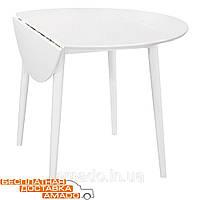 Стол Астер 560(+250)(+250)*1060*750 (белый) Domini, фото 1
