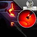 Світлодіодні лампи Carlamp 4G-Series W21W-T20 RED, фото 3