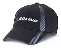 Бейсболка Boeing Carbon Fiber Print Signature Hat (черная)