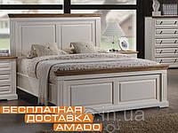 Классическая Мягкая Кровать 1,8 Калифорния (античный белый) Domini, фото 1