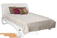 Кровать 1,8 Эвита (белый глянец) Domini