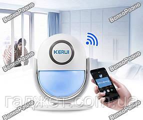 WI-FI сигнализация KERUI WP6. KERUI WP6•wi fi •Сигнализация для Дома•управление через смартфон