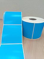 Этикетка Vellum 92х92 полуглянцевая голубая/40 вт/тыс