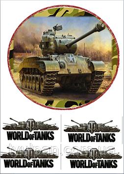 Вафельная картинка worldoftanks