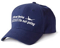 Оригінальна бейсболка If It's Not Boeing, I'm Not Going 115015010429 (Navy)