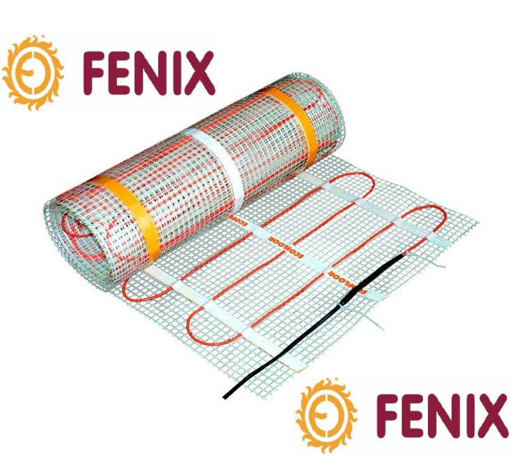 Тёплый пол электрический Fenix (Мат) 2150 Вт\26.6 кв. Нагревательный мат LDTS 160 Вт\м.кв под плитку