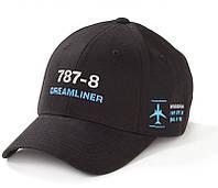 Оригинальная кепка Boeing 787-8 Dreamliner Schematics Hat 115015010495 (Black)