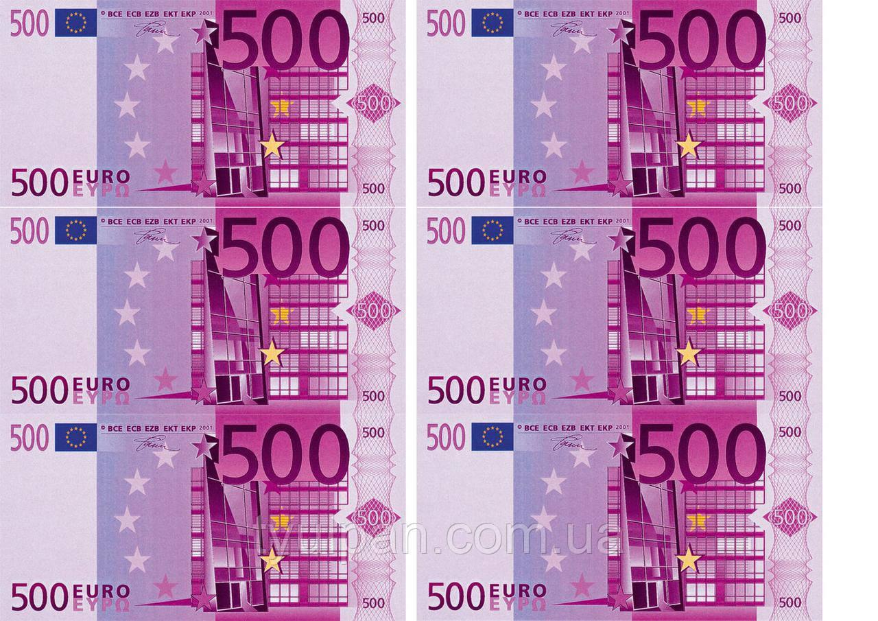 Вафельная картинка доллары и евро