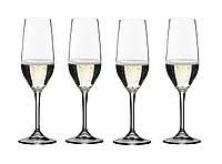 Riedel Vivant Набор бокалов для шампанского 4*290 мл (0484/08)