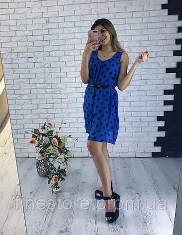 4b8a8e53e43 Шифоновое платье в горох  продажа
