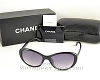 Женские солнцезащитные очки Chanel классический элегантный стиль Шанель качественная реплика, фото 1