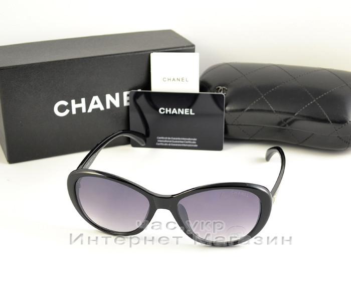 Женские солнцезащитные очки Chanel классический элегантный стиль Шанель качественная реплика