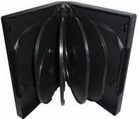 Бокс для 10 DVD дисков 33mm Black глянцевая пленка