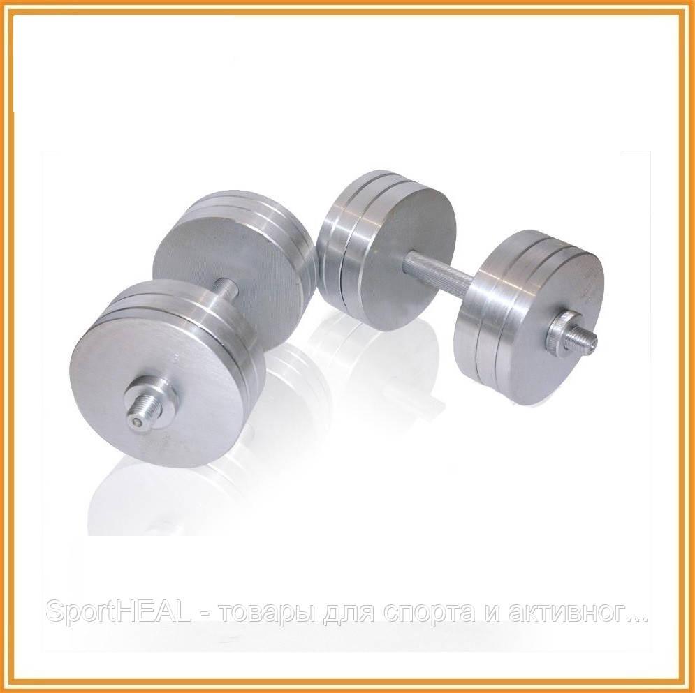 Гантели наборные разборные 2х26 кг (общий вес 52 кг)